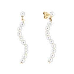 Серьги Night Pearls Gold